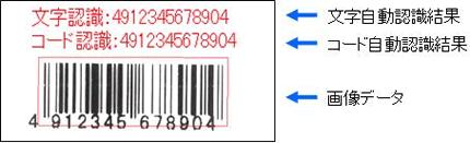 バーコード認識および照合