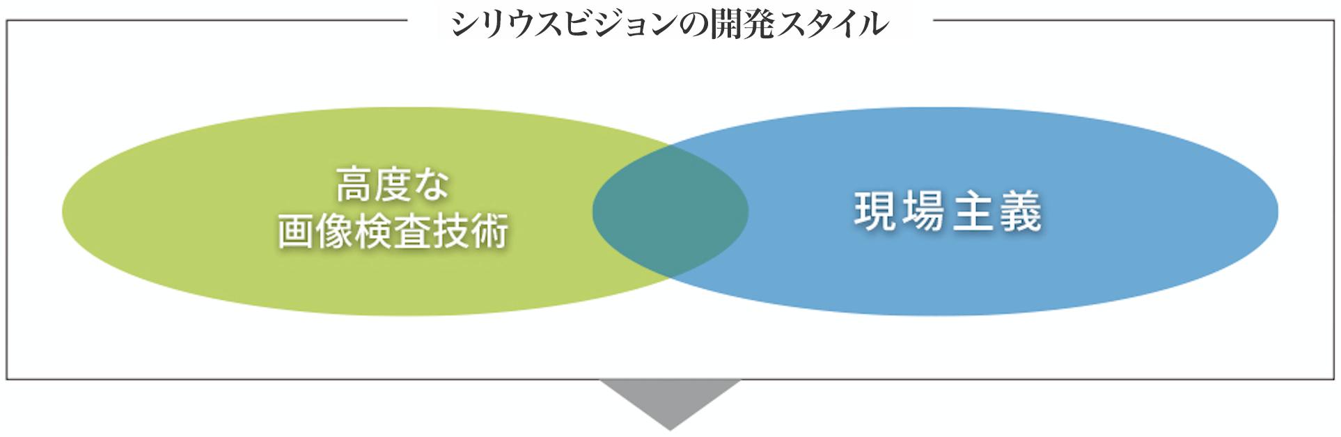 シリウスビジョンの開発スタイル