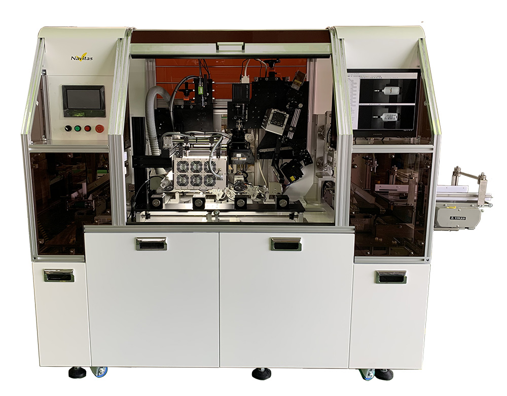 円筒/オーバル容器兼用画像検査機  SV-BD5000