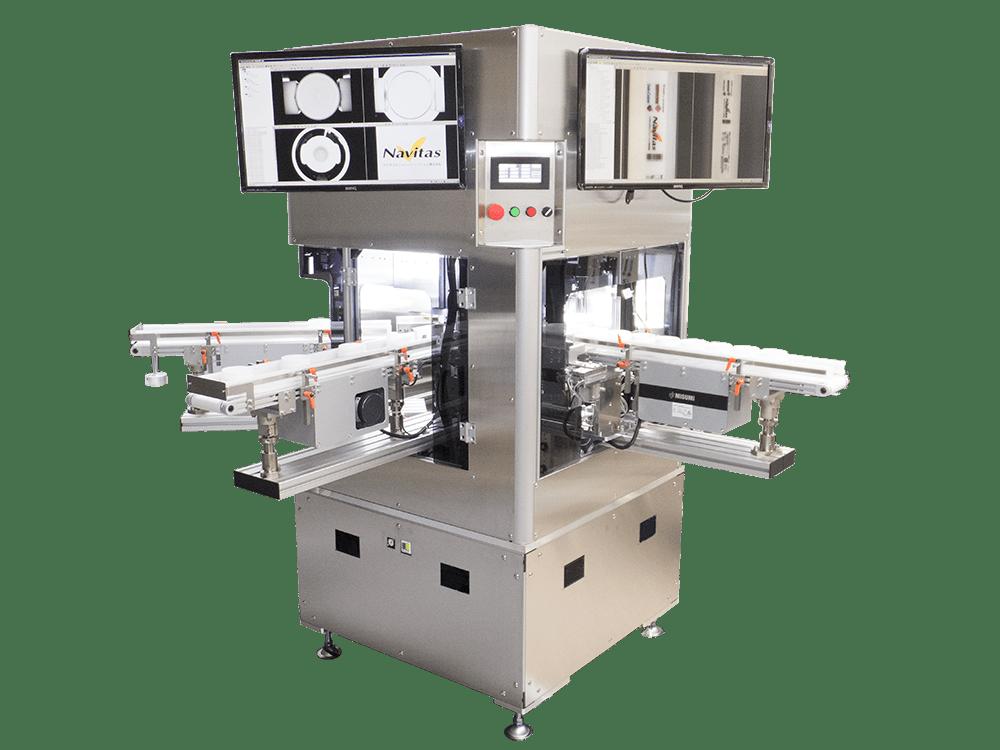 ジャー容器 印刷品質・外観検査装置「SV-BJ3000」
