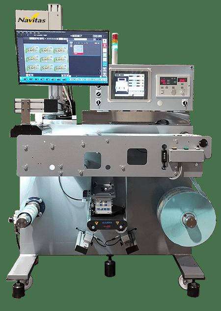 小型ロールラベル(横軸)検査装置「SV-RB2000/2030/2050」