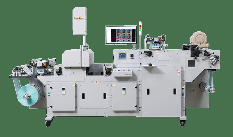逆転搬送可能 スリッター付きロールラベル検査装置「SV-RS4000/4030/4050/」
