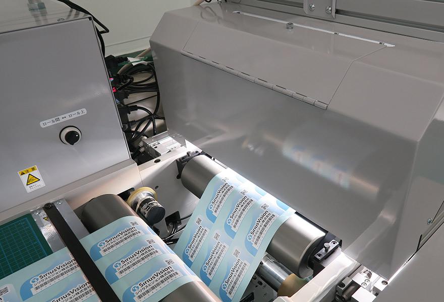 シールラベル画像検査装置