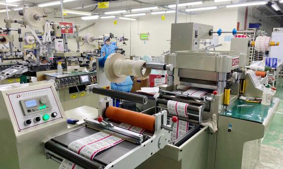 常陽マークベトナム様 ラベル印刷機