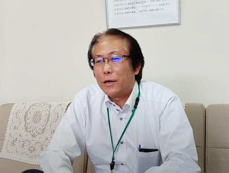 ナカバヤシ株式会社様 インタビュー風景